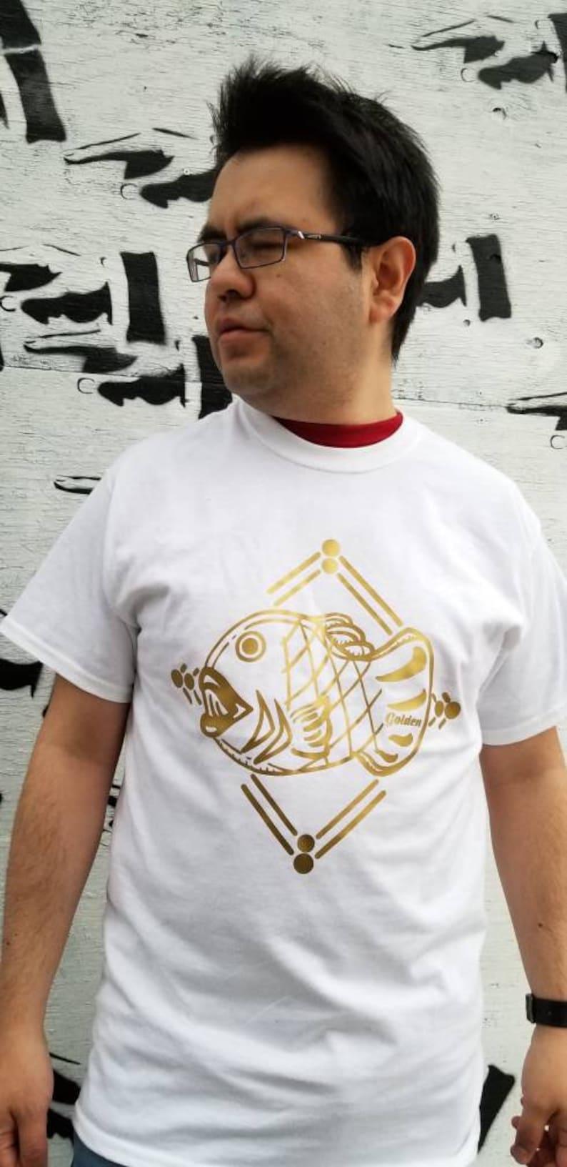Taiyaki Golden Graphic Anime Tshirt image 0
