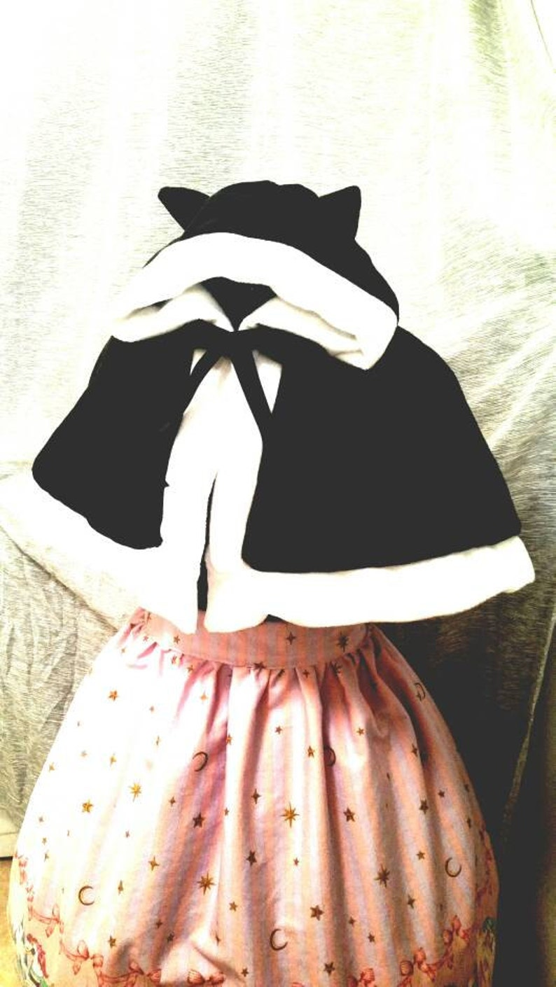 Hoodie / Bear / Cat / Lolita / Fairy Kei / Kawaii / Capelet / image 0