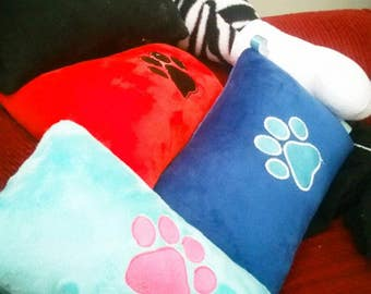 Custom Personalized Embroidered Pet Pillow
