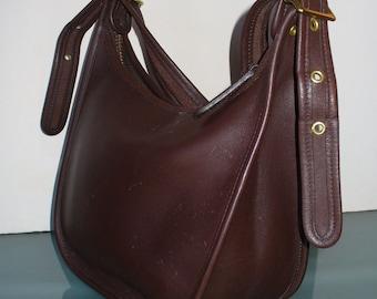 86c851960b Vintage Coach Brown Classic Hobo Shoulder Bag