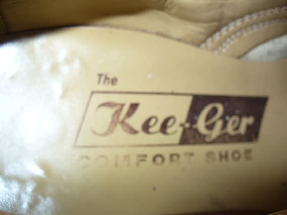 Vintage Kee-Ger White Buck Oxfords - image 2