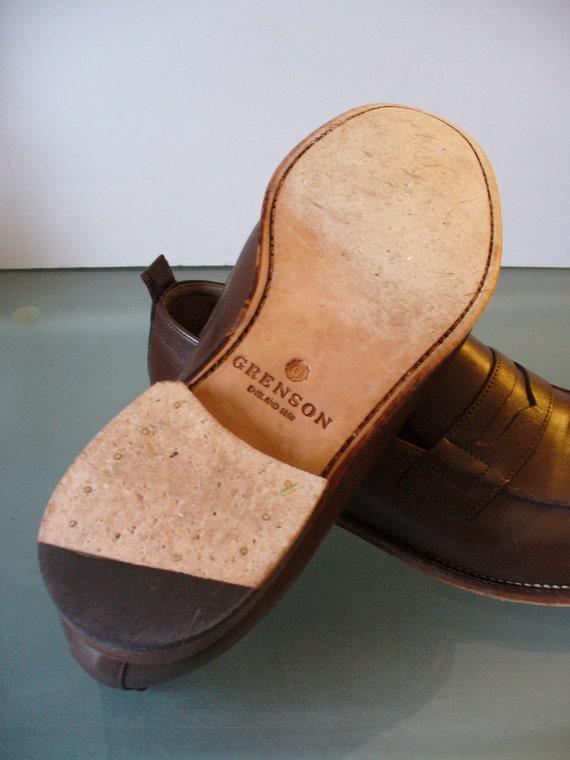 Grenson England Penny Loafers Size 10.5E - image 2