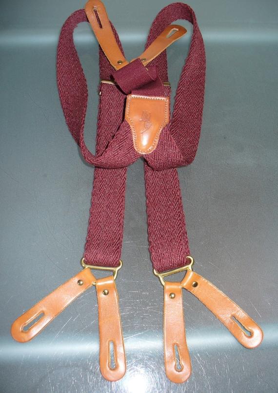 Vintage Polo Ralph Lauren Suspenders