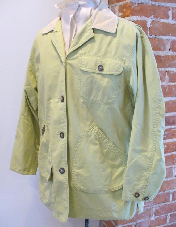 Bean  Ladies Barn Jacket Size Small Vintage L.L