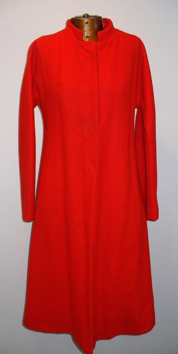 Vintage Halldon Ltd. Red Princess Coat