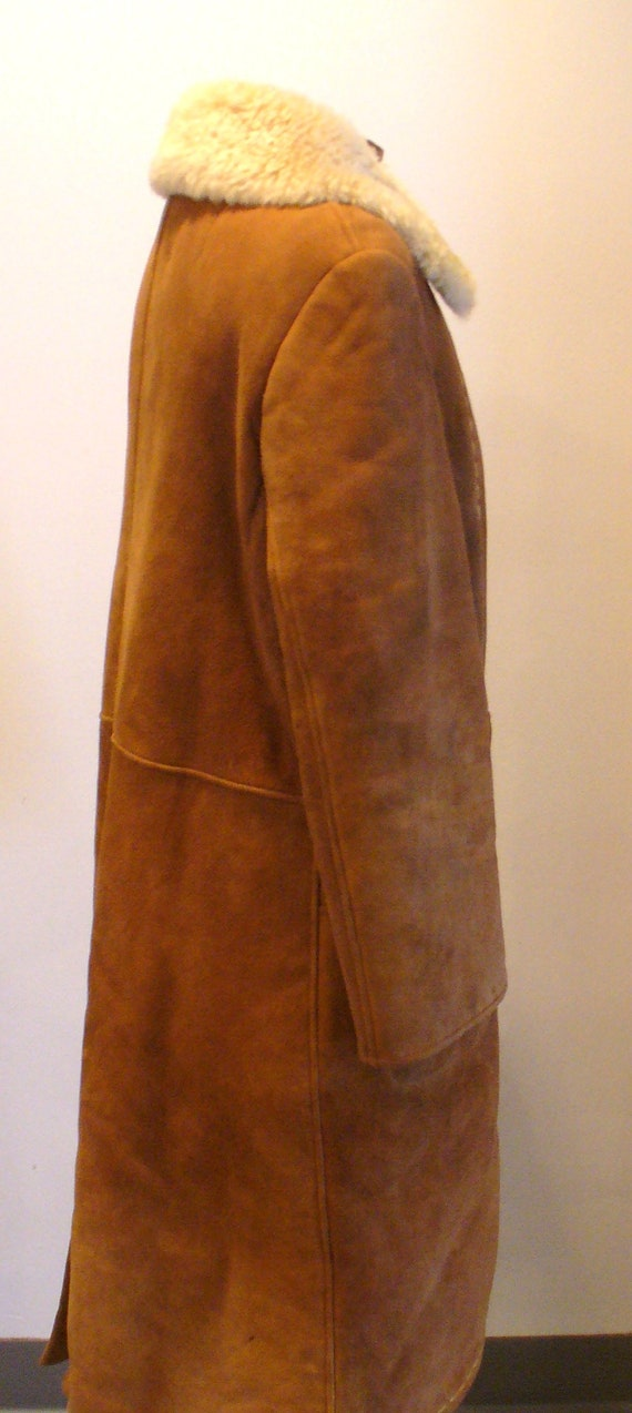Vintage Shearling Sheepskin  Coat - image 8