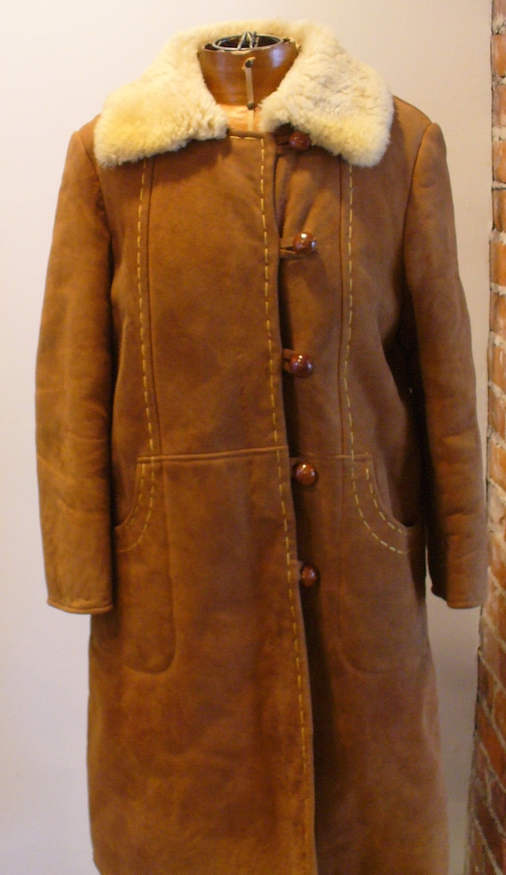 Vintage Shearling Sheepskin  Coat - image 2