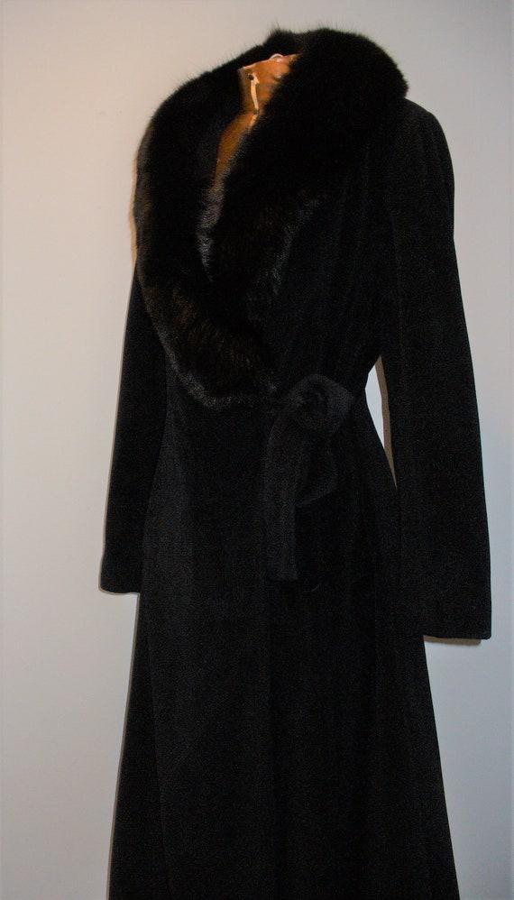 Vintage Velour Princess Style Coat