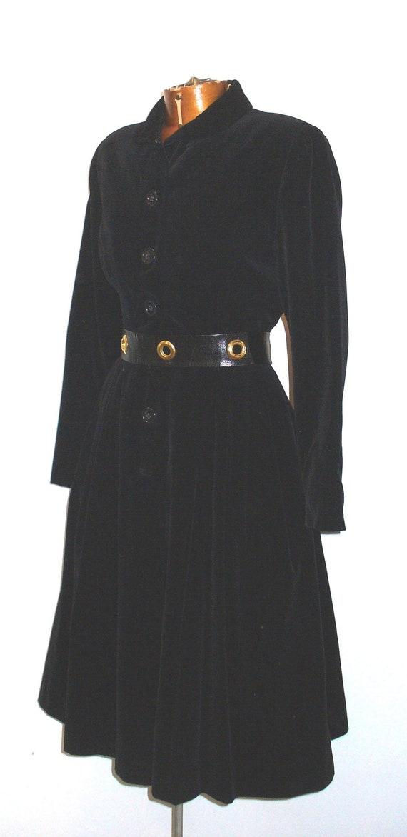 Vintage Velvet Princess Style Coat