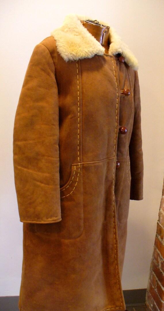 Vintage Shearling Sheepskin  Coat - image 9