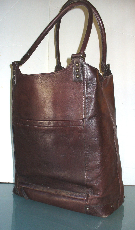 Vintage Solo Leather Business Bag