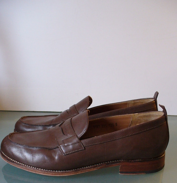 Grenson England Penny Loafers Size 10.5E - image 3