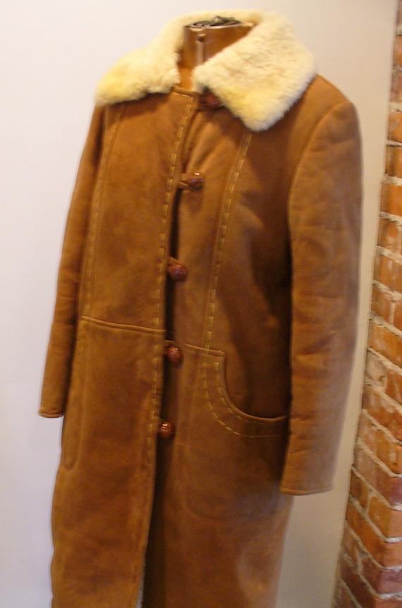 Vintage Shearling Sheepskin  Coat - image 4