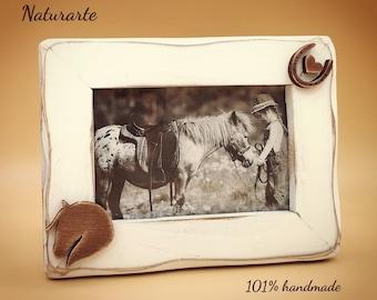 Picture Frame Horse-Hoofprint-Heart