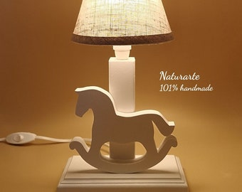 Table lamp Rocking horse