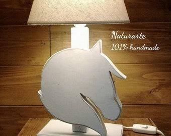 """Table lamp """"Horse Head"""""""