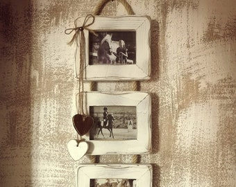 Wall Triple Picture Frame