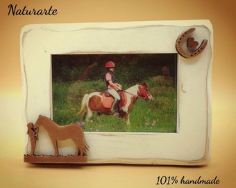 Picture Frame Heart with Horse