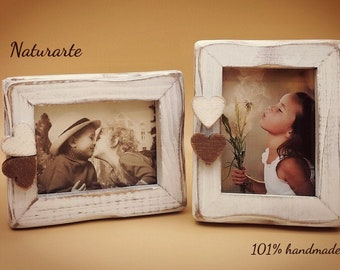 Small Picture frames with hearts