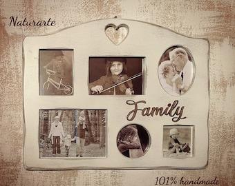 "Multi photo Frame ""Family"""