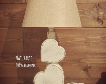 Table Lamp Hearts