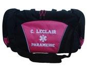 Duffel Bag Personalized Star of Life Paramedic EMT EMS Nurse Medic Trauma Nurse CPR Fire Rescue Emergency Medical Student Nurse First Aid