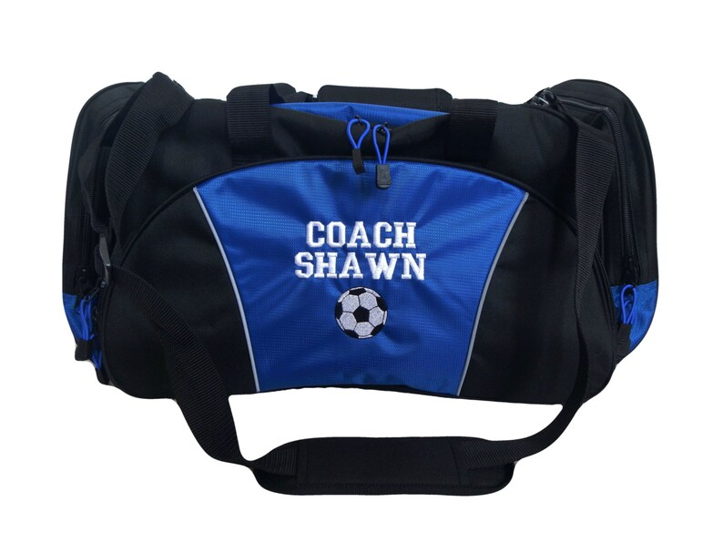 54a3c94326 Duffel Bag Personalized SOCCER Football Coach Gift Mom Travel