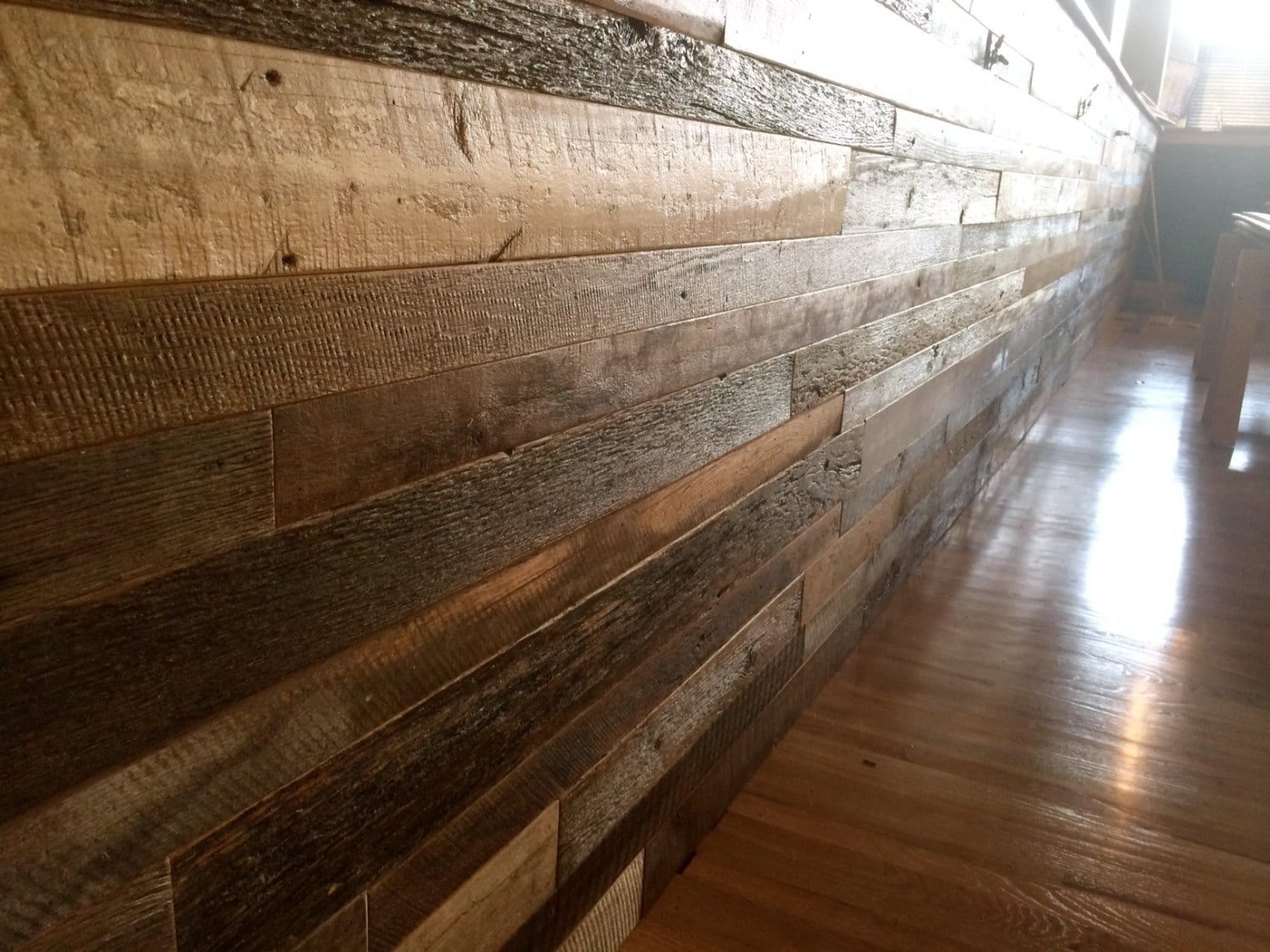 Pre Finished Reclaimed Barnwood Shiplap Paneling Barn Wood