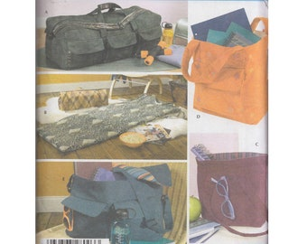Totes Floor Mat and Messenger Bag One Size New FF Uncut  simplicity sewing pattern 4535 Accessories