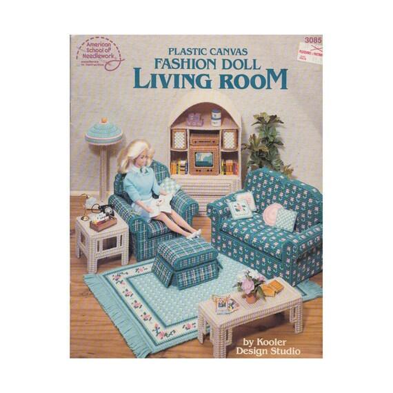 Barbie Doll Living Room Furniture American School Of | Etsy