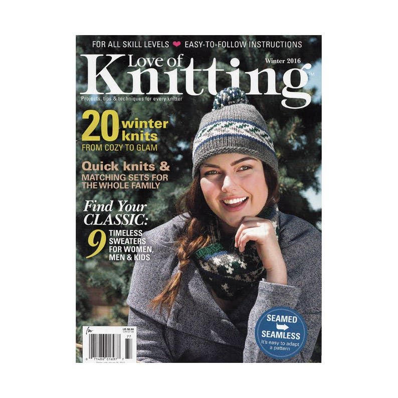 c17d983d8 Knitting Magazine Winter 2016 Quick Knits and Matching Sets