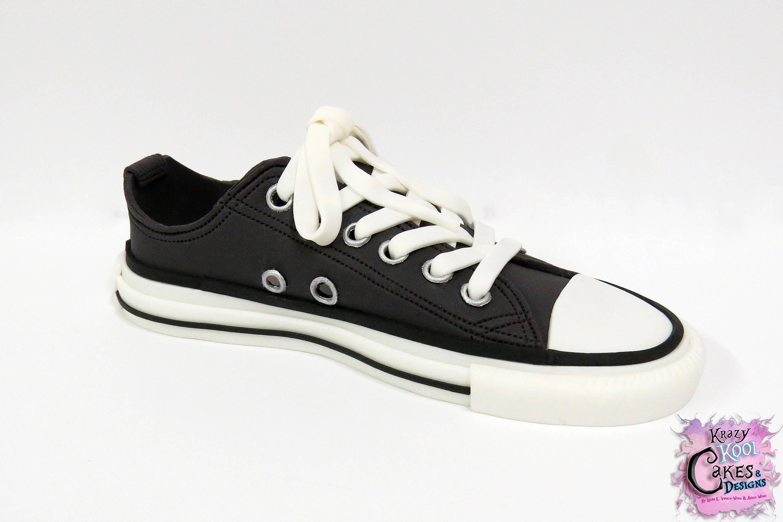 de5608d8bc9 Converse sneaker chuck taylor cake topper handmade etsy jpg 3000x1998  Harlequin chuck taylors