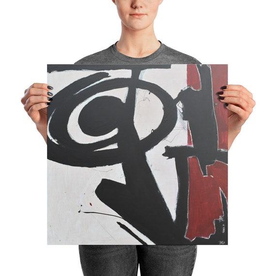 Heavy | Abstract Art Print | Wall Art Print | Large Abstract Print