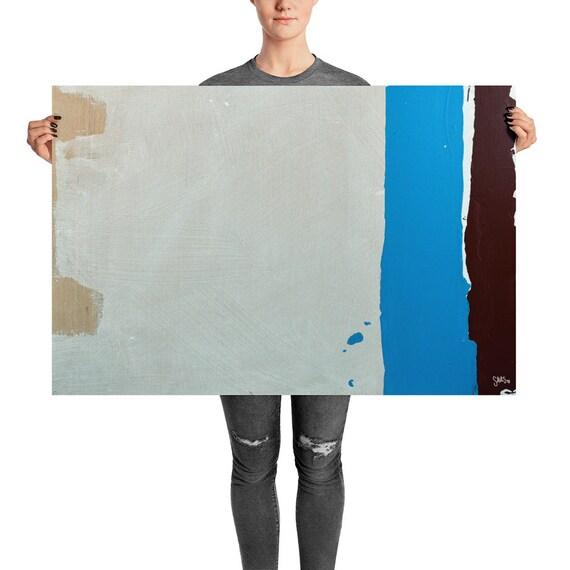 Abstract Contemporary Art Print, Modhesh, Reset No