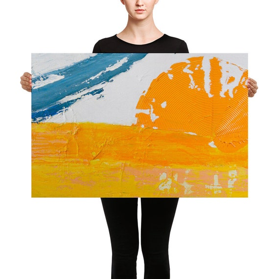 Sun Up Down |  Abstract Canvas |A Canvas Art Print | Abstract Art Print | Canvas Print | Canvas Prints | Canvas Wall Print | Canvas Wall Art