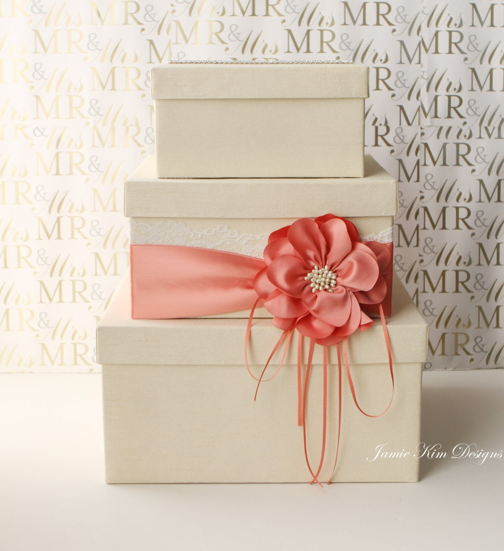 Wedding Card Box Wedding Money Box Gift Card Box Custom