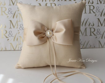Ring Bearer Pillow/ Wedding Pillow - Custom Made