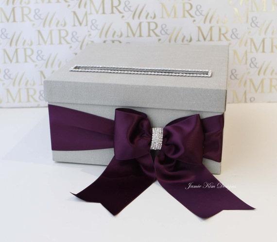 Wedding Card Box Money Box Small Size Custom Made To Etsy