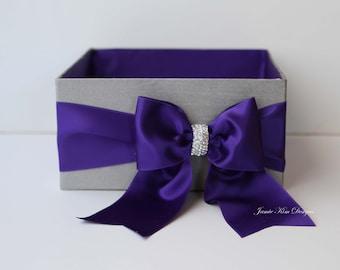 Wedding Program Box, Bubble Box, Amenity Box- custom made to order
