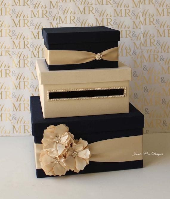 Wedding Card Gift Boxes: Wedding Card Box Money Box Gift Card Holder Choose Your