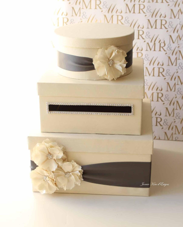 Wedding Card Box Money Box Gift Card Holder Custom Made To