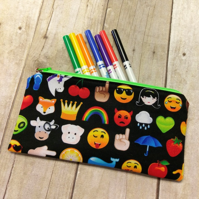 Smiley Face Pencil Cases
