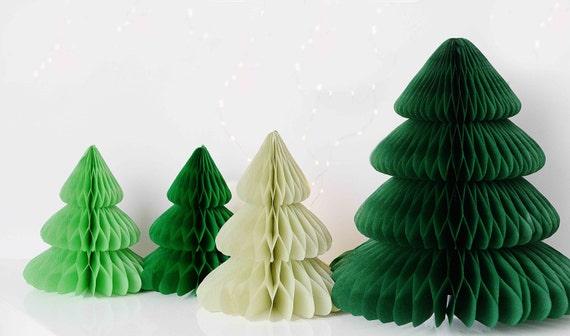 Tissue Paper Christmas Tree Set Paper Honeycomb Set