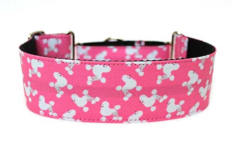 Poodle Martingale Dog Collar 2 Standard Poodle Dog image 0