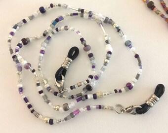 Purple People Eater Eyeglass Chain