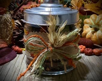 Harvest Brew ~ Stovetop Simmering Herbs ~ All natural Potpourri, Herbal Fragrance, Handmade, Simmering Incense, Plastic Free