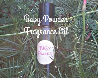 Baby Powder Fragrance Oil Roll On - Baby Powder - Fragrance Oils - Fresh Clean Scents - Elusive Wolf