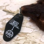 Retro Motel Novelty Keychain - Based on your favorite books, songs, + movies!