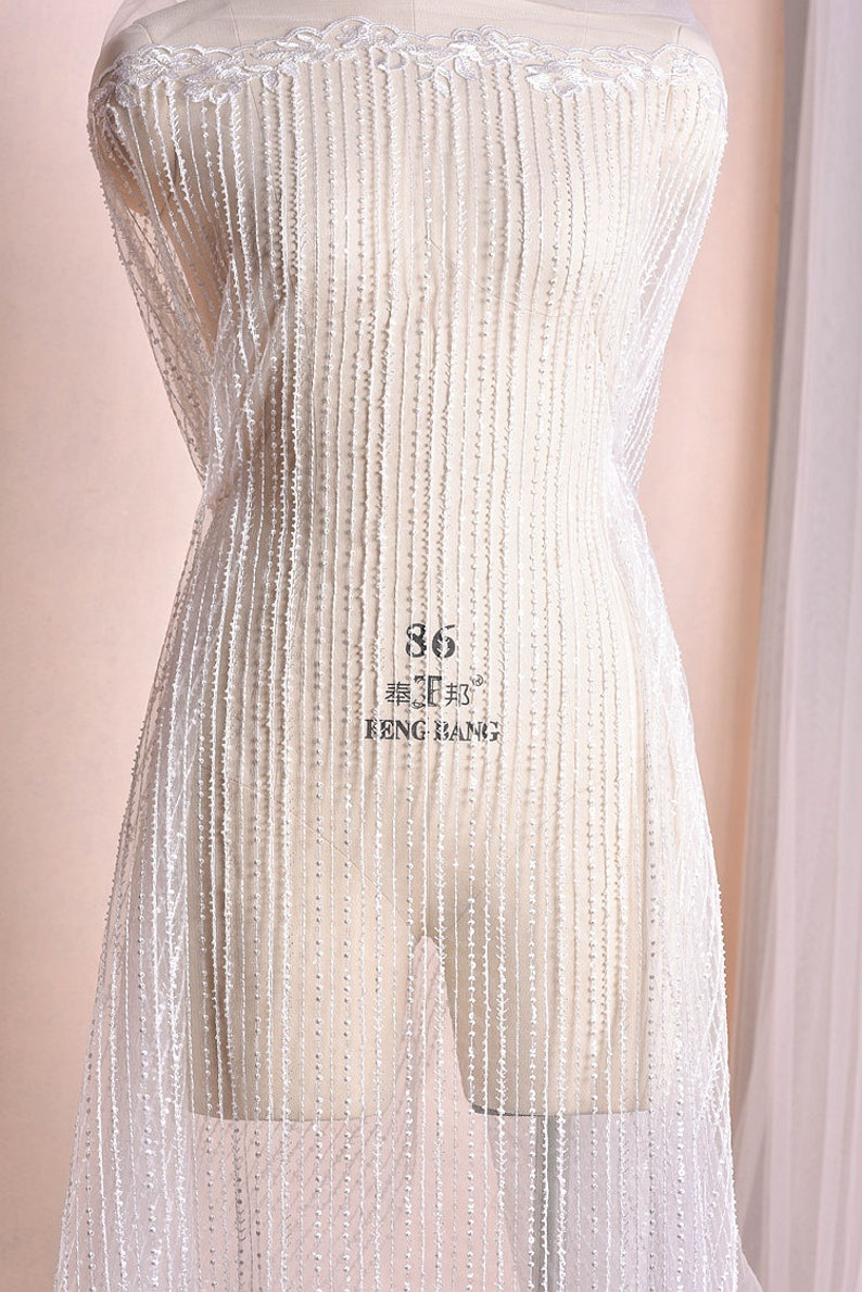 0.9x1.3 meter wide ivory sequins mesh tulle gauze bridal wedding dress embroidered veil fabric cloth clothing K30C356O0804V free ship