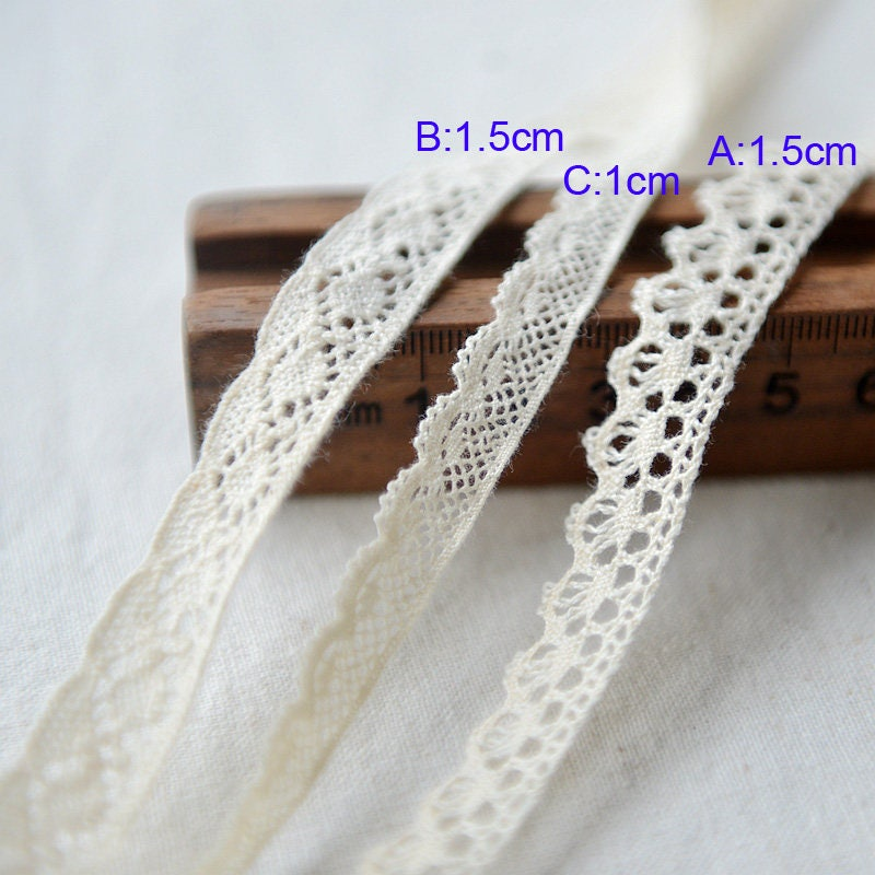 bandes de 30 cm de 1 à 1,5 tissu mètre large beige coton tissu 1,5 broderie navire gratuit X9E606L1128R ruban de dentelle ca43dc